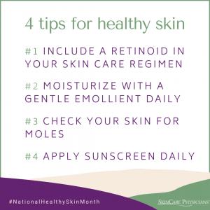 Dr. Karen Kim's 4 tips for healthy skin