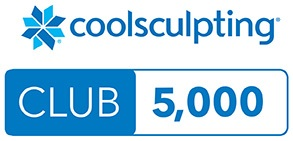 In recognition of the 5000 CoolSculpting treatments performed