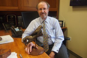 Dr. Arndt receives Blade and Light Society's Mentor-of-the-Year Award