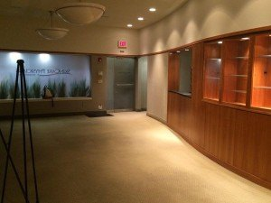 SkinCare Physicians' original waiting room