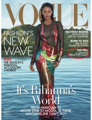 Cover of Vogue Aptil 2016 issue