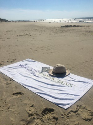 SCP towel & masque