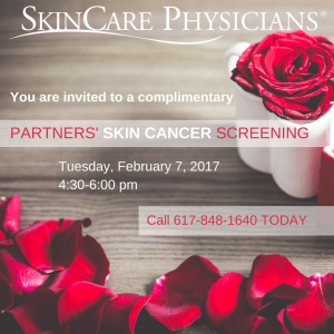 Invitation to Skincare Physicians' Valentine Event