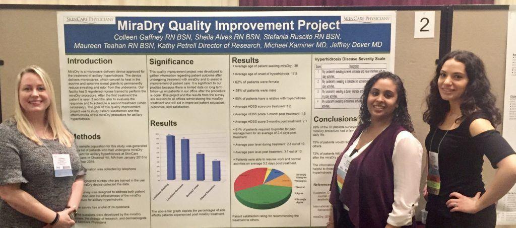 SCP-nurses-at-DNA-2017-Miradry-results