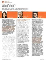 What's Hot column in Dermatology World - May 2017