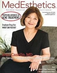 Cover of MedEsthetics Nov/Dec 2017 issue