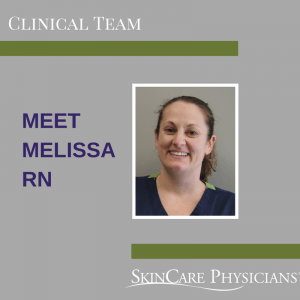 Melissa, RN at SkinCare Physicians