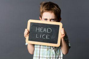 Child scared of head lice