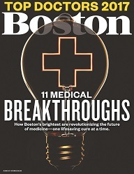 Boston Magazine Top Docs 2017 cover