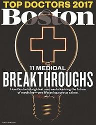 Boston Magazine Top Docs 2017 cover