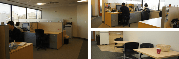 Photos of SkinCAre Physicians' new Billing Department