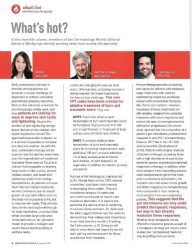 Dermatology World Jan 2018 What's Hot column