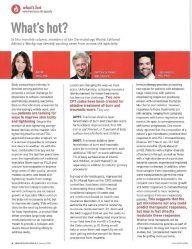 Dermatology World Jan 2018 What's Hot column