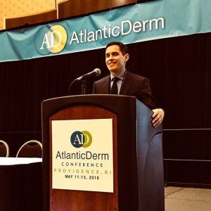 Dr. Jeffrey Sobell at Atlantic Derm Conference