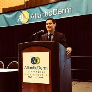 Dr. Jeffrey Sobell at Atlantic Derm Conference