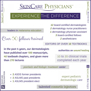 SkinCare Physicians' differentiator