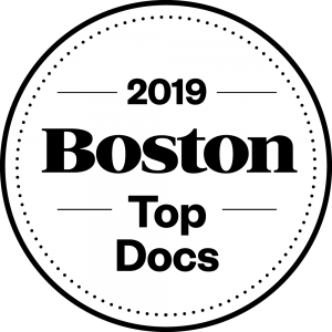 Boston Magazine Top Docs logo 2019