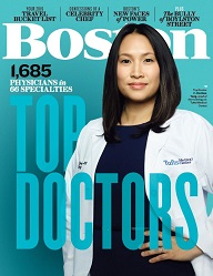 Cover of Boston Magazine 2019 Top Doctors issue