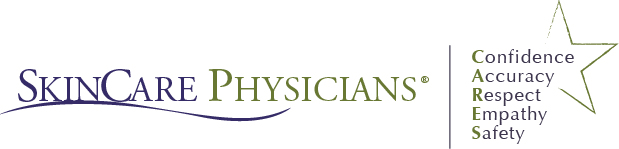 SkinCare Physicians CARES logo