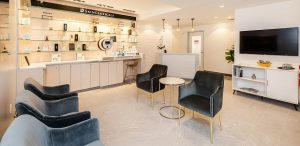 Our Advanced Dermatology Spa™ aesthetic center waiting room