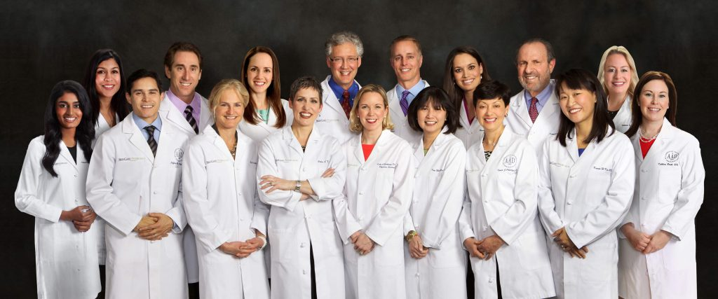 Photo of all the board-certified dermatologists and providers at SkinCare Physicians