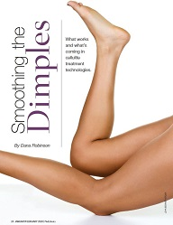 Article on cellulite treatment quoting Dr. Kaminer