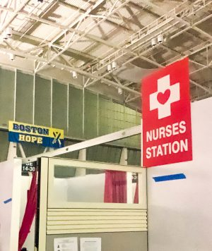 Nurses Station at Boston Hope Medical Center