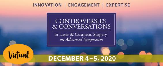 Virtual SkinCare Controversies Symposium 2020 banner