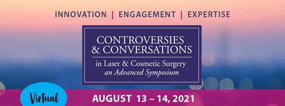 Virtual SkinCare Controversies Symposium 2021 banner