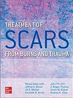 Cover of Treatment of SCARS from Burns and Trauma
