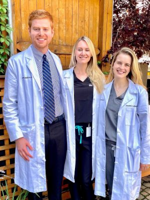 Drs. Jacob Inda, Erika Hagstrom and Jessica Labadie, our 2021-2022 fellows