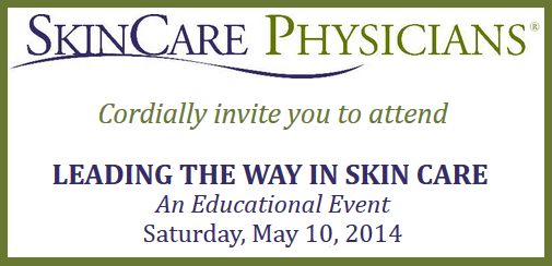 SkinCare Physicians cordially invites you to attend eductional event