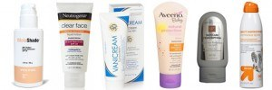 Select the right sunscreen for your skin