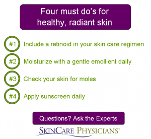 Four must do's for a healthy, radiant skin