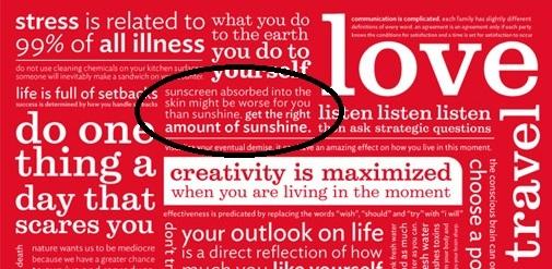 Lululemon manifesto on sunscreen