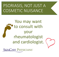 Psoriasis, not just a cometic nuisance