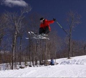 Dr. Rohrer, being sun safe on the slopes