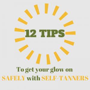 12 self tanning tips image