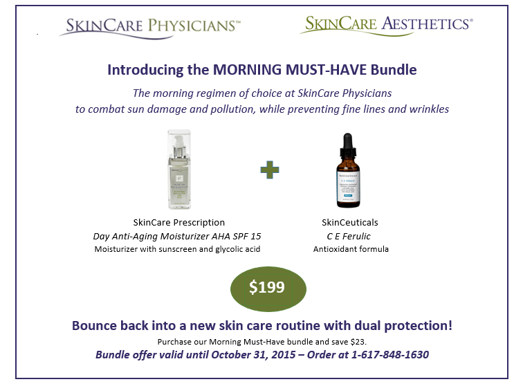 SkinCare Physicians Morning-must-have bundle offer
